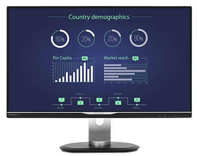 Lcd Monitor Mit Usb C Dockingstation 258b6queb 00 Philips