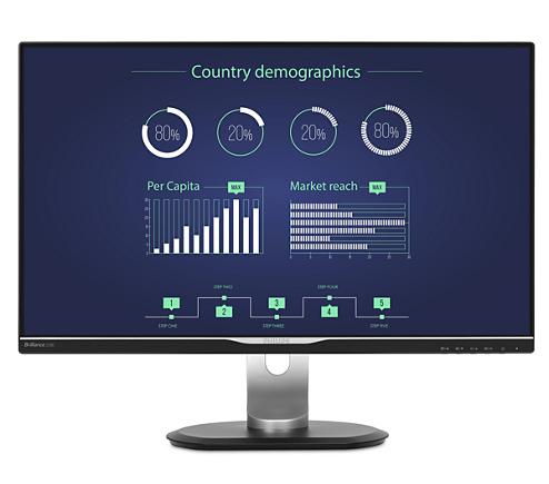 Lcd Monitor With Usb C Dock 258b6queb 00 Philips