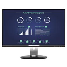 258B6QUEB/56  شاشة LCD مع قاعدة إرساء USB-C