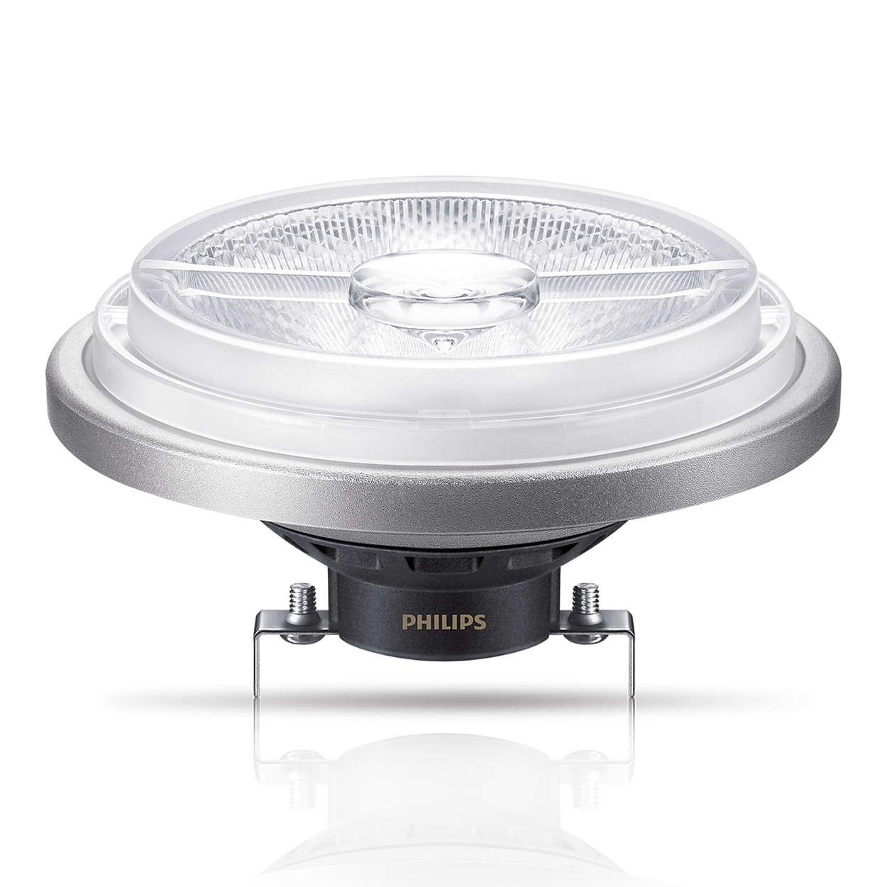 master ledspot ar111 niedervolt reflektorlampen led lampen philips lighting. Black Bedroom Furniture Sets. Home Design Ideas