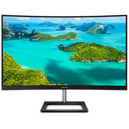 Full HD izliektais LCD monitors