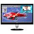 Brilliance Moniteur LCD avec webcam et affichage multi-vues