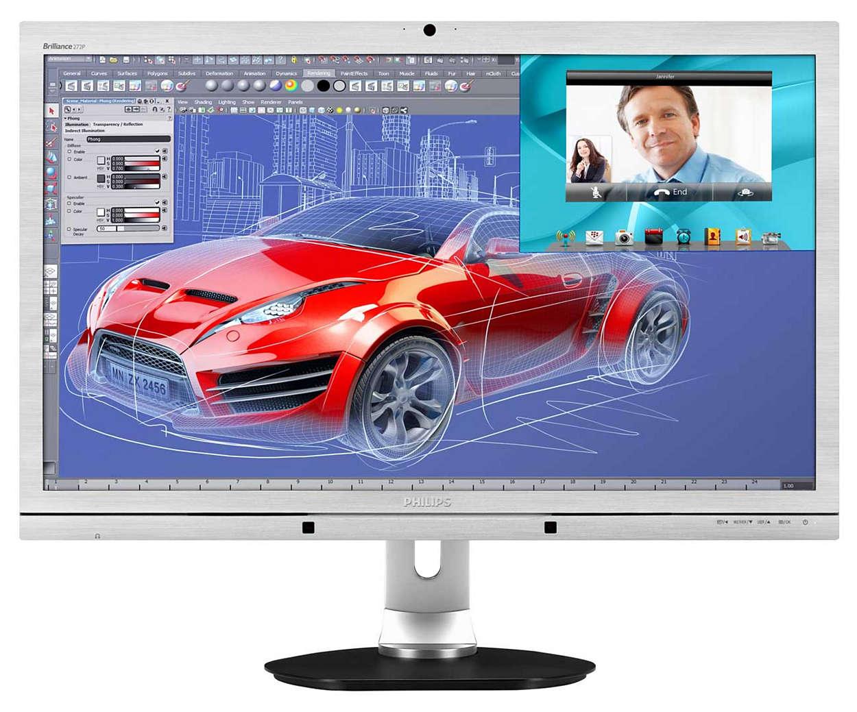 Imagens CrystalClear, produtividade máxima
