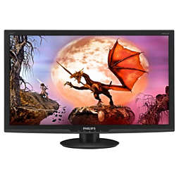 LCD monitor, LED backlight