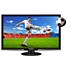 Monitor LCD 3D com retroiluminação LED