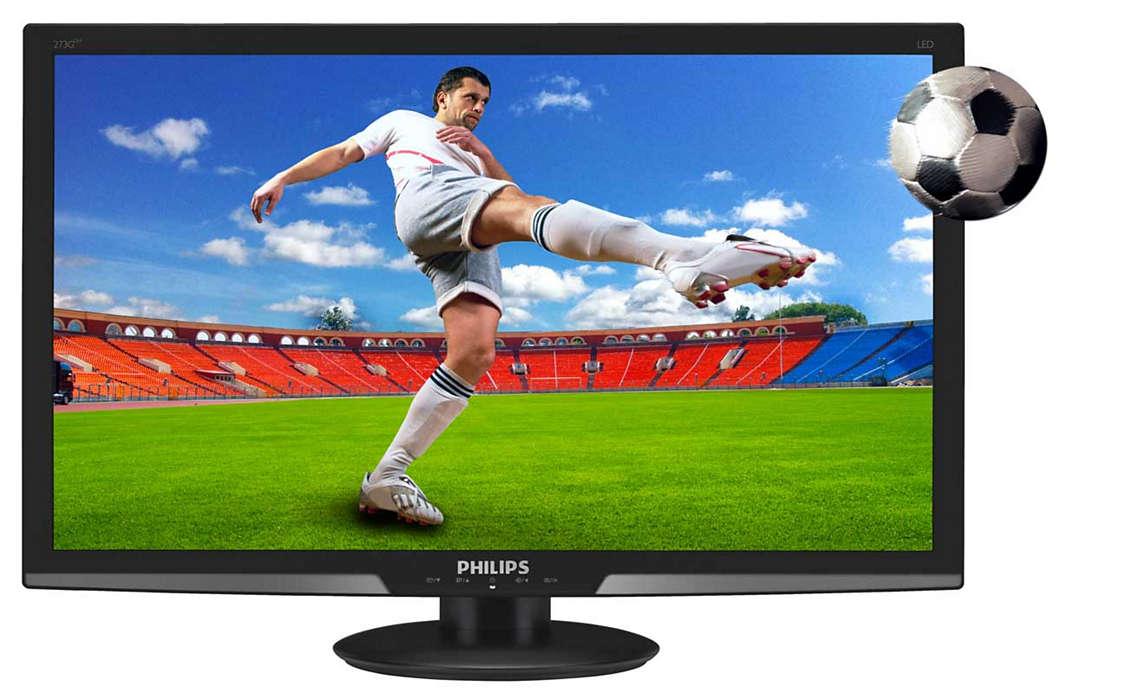 用大螢幕顯示器享受 3D 遊戲體驗