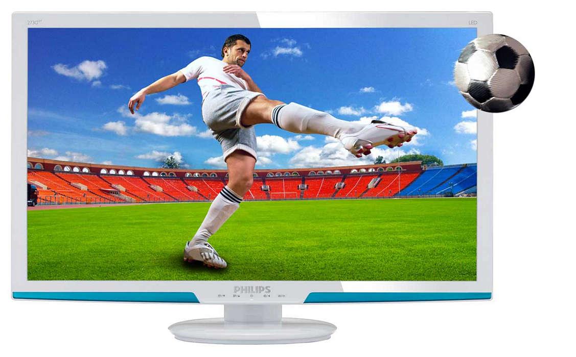 Siente la experiencia de los juegos en 3D en tu pantalla grande