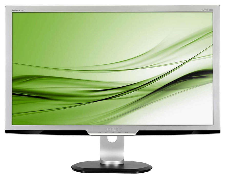 採用永續環保設計的顯示器