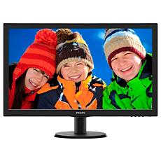 273V5LHAB/89  شاشة LCD مع SmartControl Lite