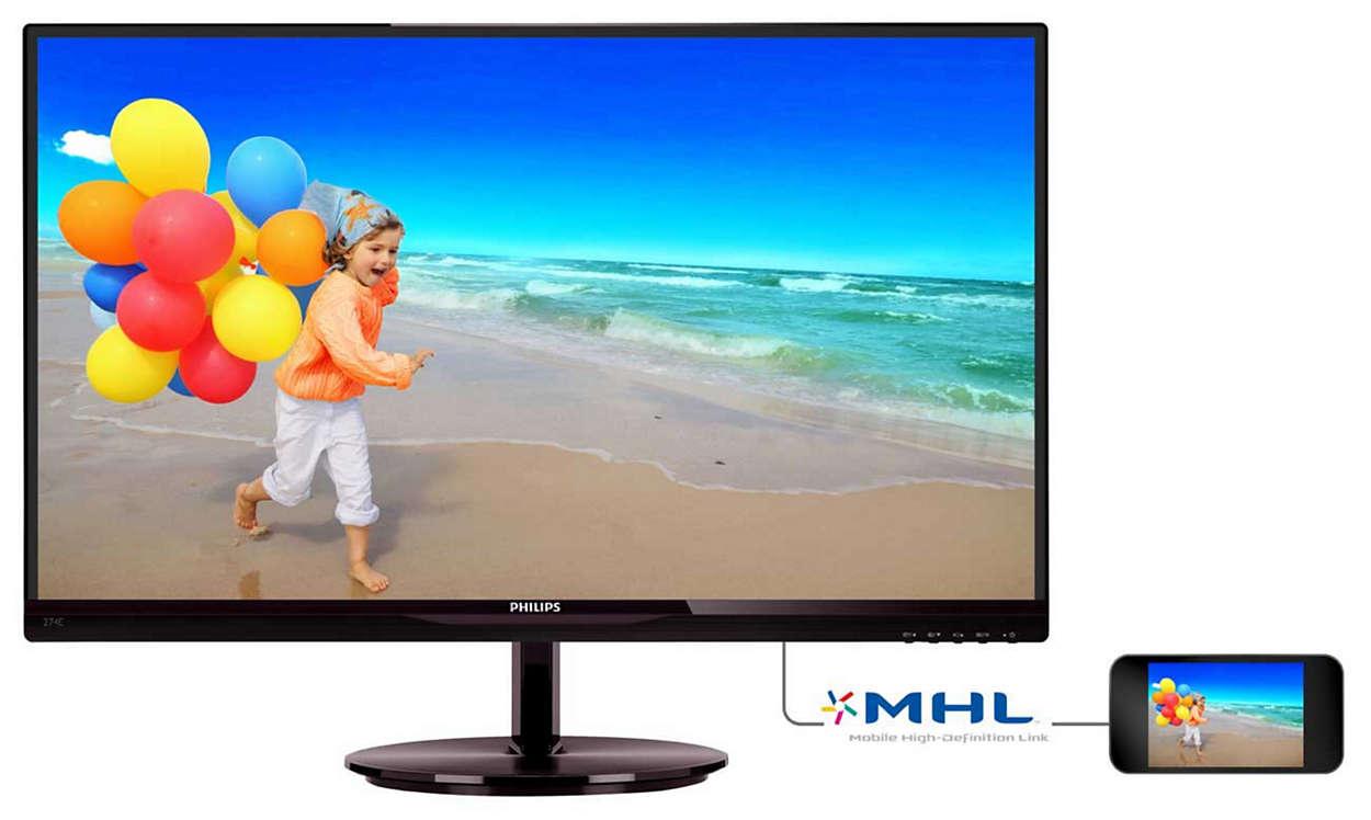 Levende billeder med AH-IPS-skærm
