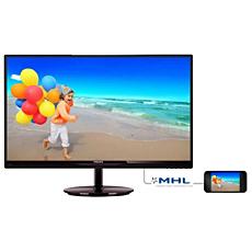 274E5QHAB/56  شاشة LCD مع SmartImage Lite