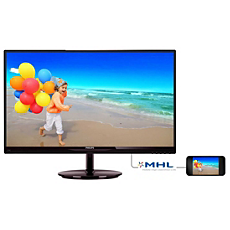 274E5QHAB/75  LCD monitor with SmartImage lite