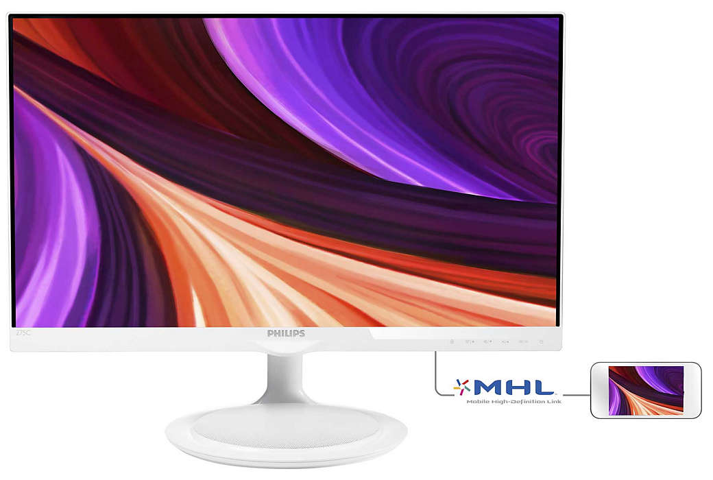 Monitor IPS e altifalante Bluetooth num só