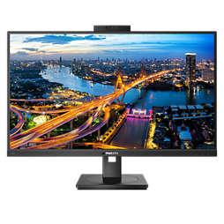 Monitor LCD ze stacją dokującą USB