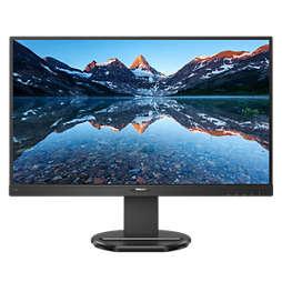 LCD monitor USB-C dokkolóval