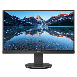 LCD monitor with USB-C