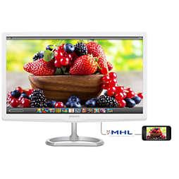 LCD monitors ar Quantum Dot krāsām