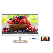 LCD monitor with Quantum Dot color
