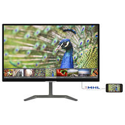 צג LCD עם Ultra Wide-Color