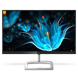 LCD-monitor z izjemno širokim barvnim spektrom