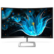 Curved LCD monitor with Ultra Wide-Color
