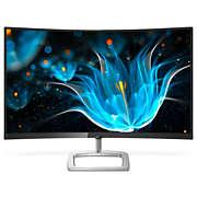 Monitor LCD curvo con Ultra Wide-Color