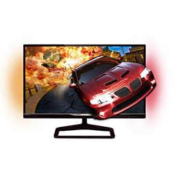 Brilliance Monitor LCD con Ambiglow