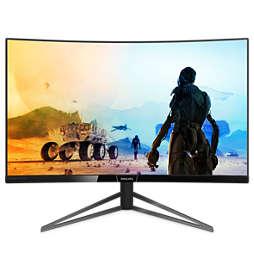 Momentum Monitor LCD curvo con Ultra Wide-Color