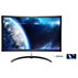 Brilliance Full HD Curved LCD monitor