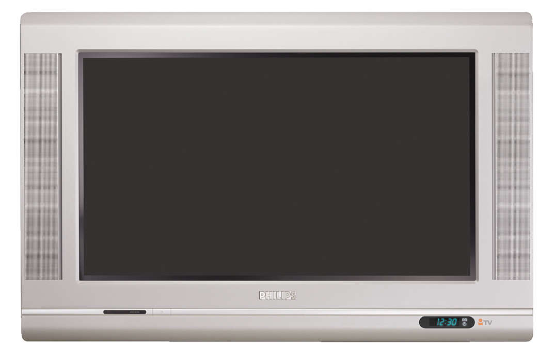 Širokoúhlý televizor Real Flat