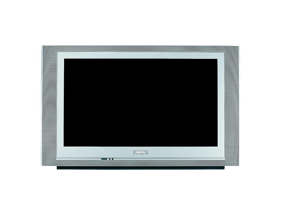 O televisor que alarga os seus horizontes!