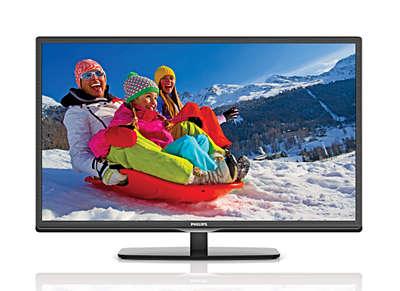 off on HD LED TV