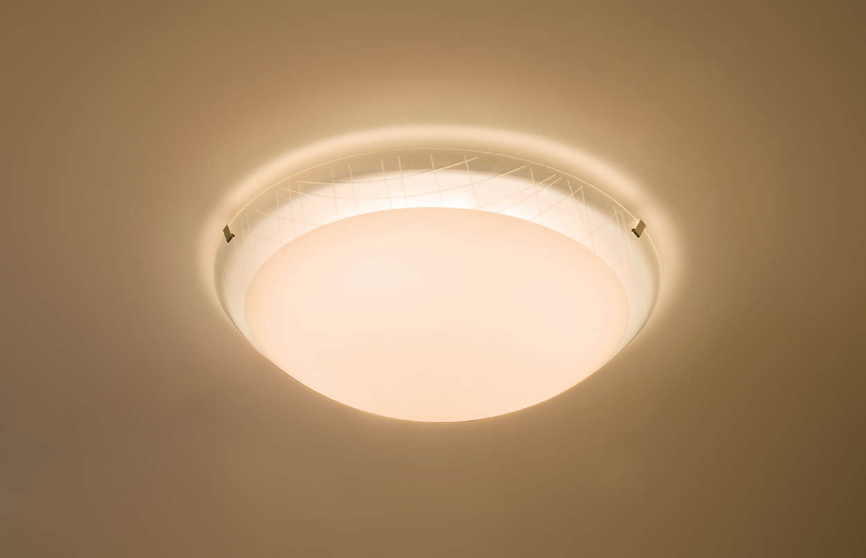 Işıkla rahatlayın.