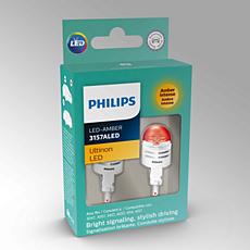 3157AULAX2 Ultinon LED Ampoule pour clignotant de voiture