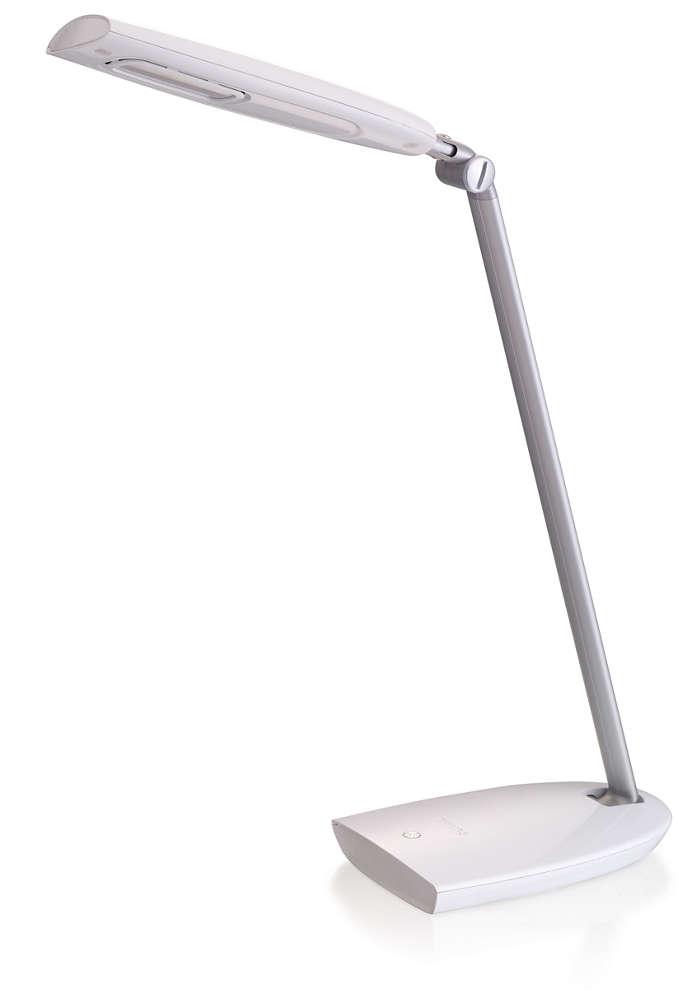 Enhanced desk lighting for a brighter tomorrow
