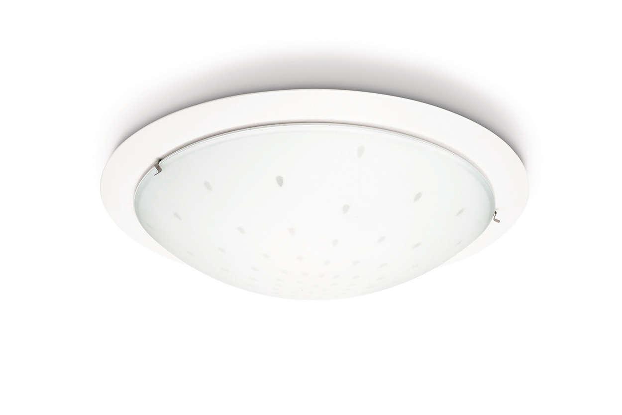 Plafoniere A Led Per Bagno Philips : Lampada da soffitto 320206716 philips