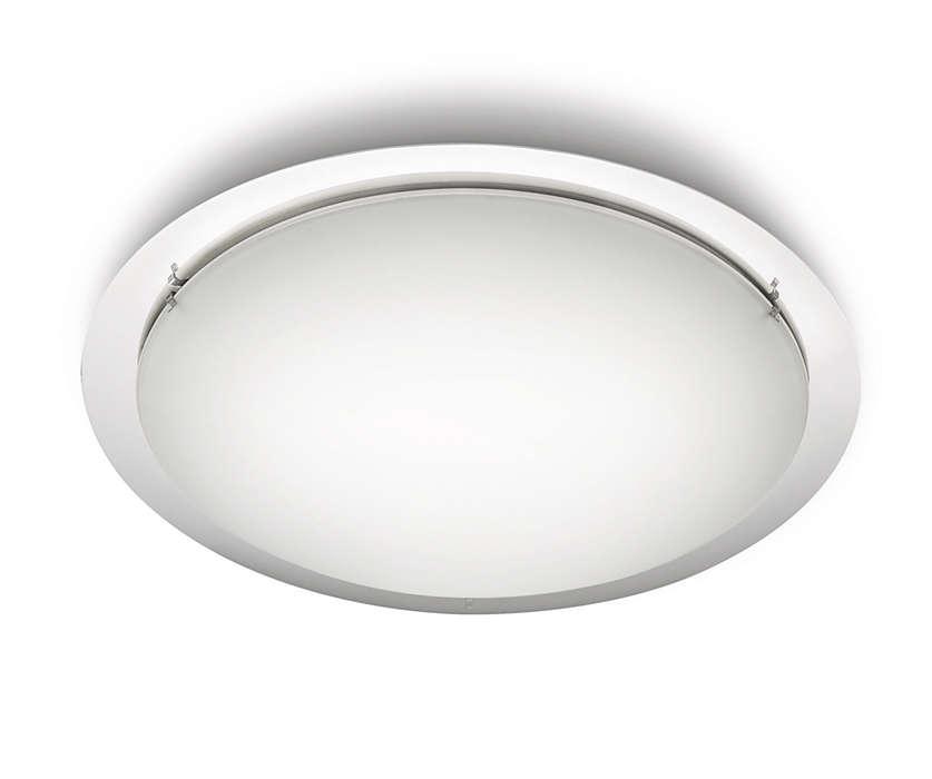 Rafraîchissez-vous à la lumière d'un magnifique éclairage naturel