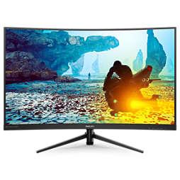 Momentum Màn hình LCD cong HD đầy đủ