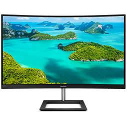 צג LCD מקומר עם Ultra Wide-Color