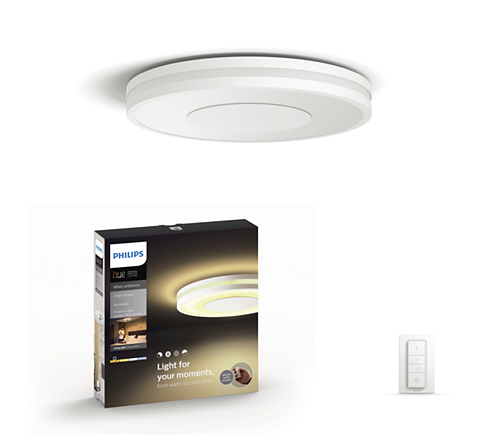 Hue White ambiance Deckenleuchte Being 3261031P7 | Philips