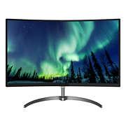 Svängd LCD-skärm med Ultra Wide-Color