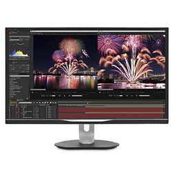 Brilliance Monitor LCD com ligação USB-C