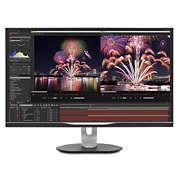 Brilliance LCD-monitor s postajo USB-C