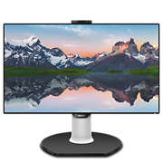 Brilliance Monitor LCD con base USB-C