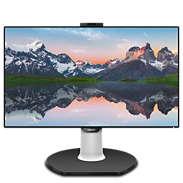 Brilliance Monitor LCD con base USB-C