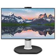 Brilliance LCD-monitor met USB-C-dock