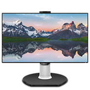 Brilliance LCD monitor with USB-C Dock