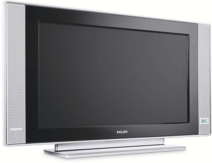 Flat TV preparado para sistemas