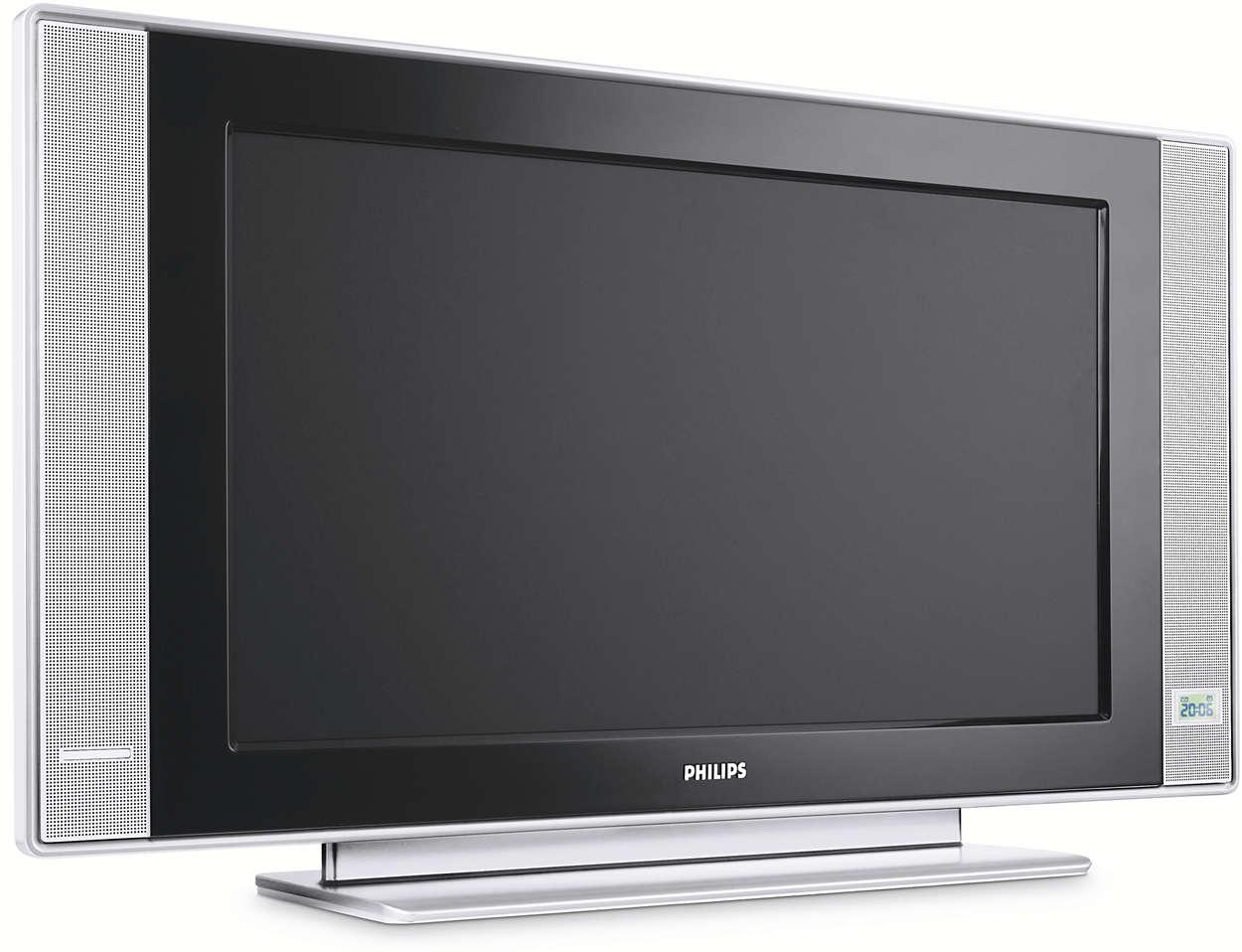 Síkképernyős televízió rendszer-előkészítéssel