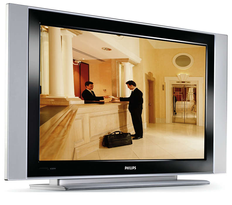 Integrated Flat LCD HDTV for entertainment